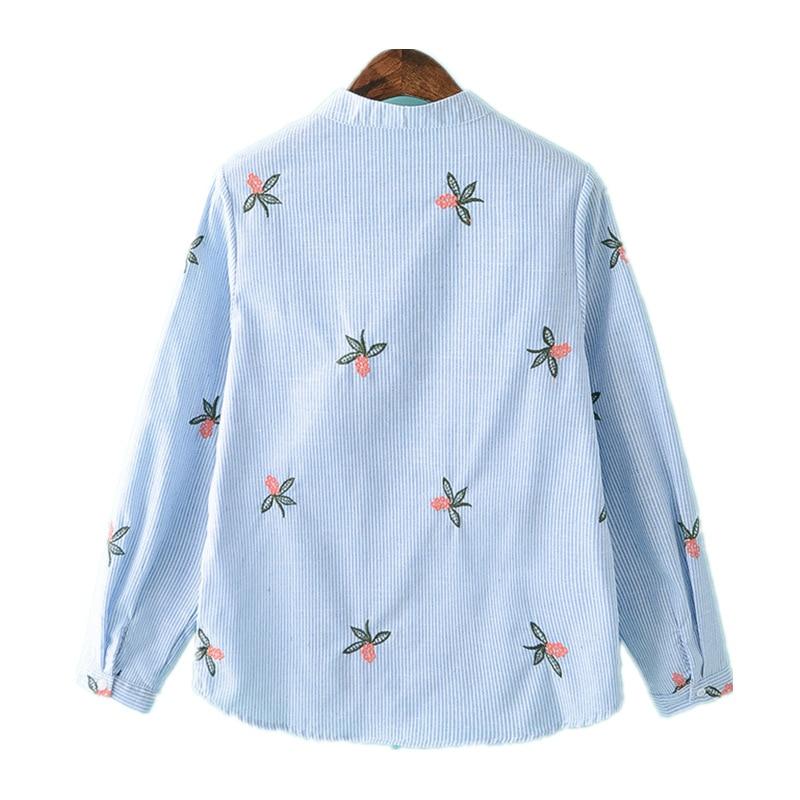 2019 proljeće nova korejska ženska bluza s dugim rukavima, ležerne - Ženska odjeća - Foto 2