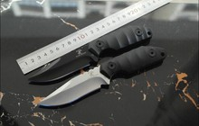 Two Color Choice High Quality Fixed Blade Straight Knife for Outdoor Sport Rescue 59-60HRC High Hardness Knives Hunting