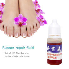 1pcs 10ml Fungal Nail Treatment Feet Care Essence Toe Nail Fungus Removal Gel Anti Infection Paronychia Onychomycosis Solution(China)