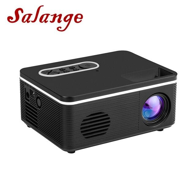 Salange S300 Pico Projector 500 lumen 3.5mm Audio 320x240 Pixels HDMI USB Mini Projector Home Media Player