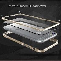 For Iphone 6S 6plus Phone Case Original Aluminum Metal Frame Case Full Body Bumper Cover For