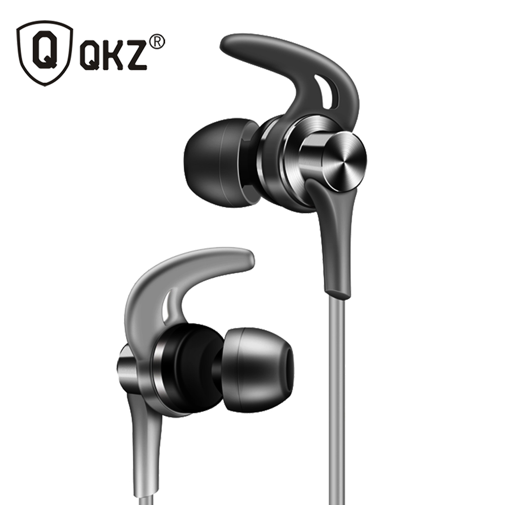 Original Earphones QKZ EQ1 Metal Earbuds Earphone New Headset with Microphone PC fone de ouvido audifonos awei es 660i mini earphone with microphone metal headset hifi fone de ouvido audifonos casque for iphone samsung huawei phones