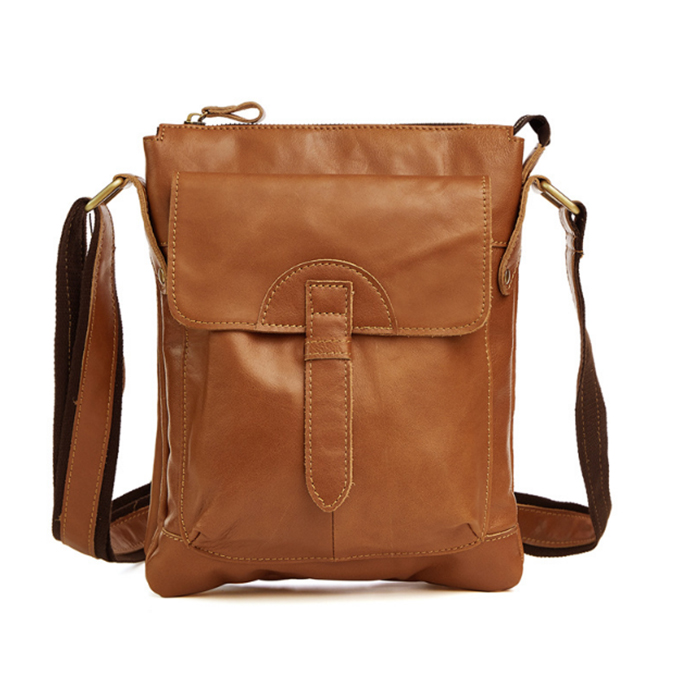 Vintage Fashion Men Messenger Bag 100% Genuine Leather Men Shoulder Crossbody Bag Brand Design Man Bag Brown black male bagVintage Fashion Men Messenger Bag 100% Genuine Leather Men Shoulder Crossbody Bag Brand Design Man Bag Brown black male bag
