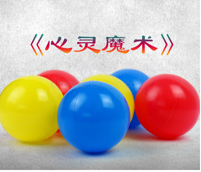 Mentalism Magic ball color psychology Mind prophecy stage close up magic tricks