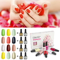 Elite99 7.3ml Long lasting 5 Pieces Gel UV Glitter Top Base Coat Needed  Soak Off Nail Polish Special UV Varnish