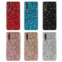 Phone Case For Huawei P30 Pro Silicon Bling Glitter Crystal Sequins Soft TPU Back Cover P 30 fundas