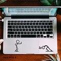 """Забавный спичка мужчины ноутбук тачпад наклейка ноутбук трекпад наклейка для 11 """" 12 """" 13 """" 15 """" Macbook Air / Pro / нью-retina мультфильм наклейка"""