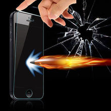 High Quality 0 3mm Real Tempered Glass Film Screen Protector for iPhone5 5S 5C