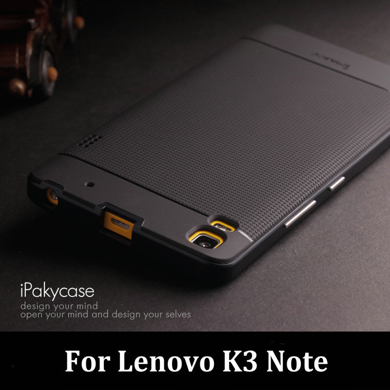 For Lenovo K3 Note Case A7000 Original iPaky Brand Luxury Fashion Silicone Transparent TPU Back Cover with Frame Housing