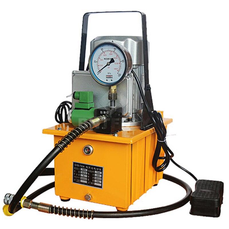 US $589 0 |high pressure oil pump Electric hydraulic pump Hydraulic press  foot hydraulic pump station Single oil circuit electric pump-in Hydraulic