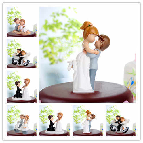 f8434afaef Detail Feedback Questions about Funny Wedding Cake Topper Fat Couple ...