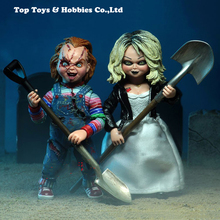 10cm 4 Ultimate Chucky Doll Childs Play Bride of Good Guys Action Figure PVC With original box