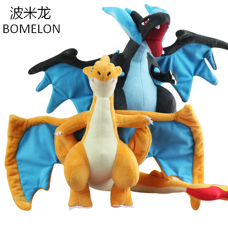 23cm Mega Charizard X Y Kawaii Dragon Plush Dolls Pocket Monster Stuffed Animals Dolls font b