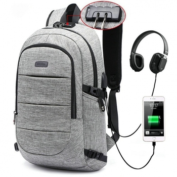 "2017 NEW Anti-theft design USB Charging Backpack Men Women Backpack school bag 15.6"" Laptop bag Backpack"