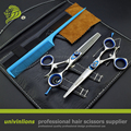 "6 ""giratoria profesional tijeras del pelo tijeras de peluquería peluquería tijeras cizalla rotativa giratoria japonés tijeras de corte de pelo"