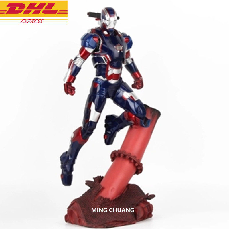 Avengers Infinity War Superhero 1/6 Iron Man Captain America Full-Length Portrait With LED Light GK Action Figure Toy D267 avengers infinity war superhero captain america shield 1 1 life size action figure collectible model toy d294