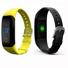 V6S Смарт Браслет Монитор Сердечного ритма Сна Tracker Шагомер Набрать Смарт Браслет IP 67 50 м Водонепроницаемый Smart Watch