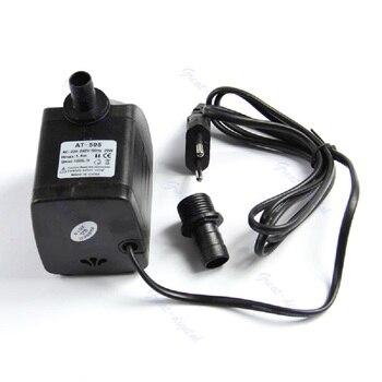 ARWDFG EU Plug 220V 20W 1000L/H Submersible Fountain Air Fish Tank Aquarium Water Pump - L057 New hot new hot black flesh aphrodisiac pump n play butt plug with pump