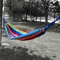 FreeShipping 200x80cm New Outdoor Swing Hammock Camping Cavans Camping Portable Hanging Bed W/Storage Bag Garden Patio Chair