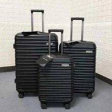 """Seyahat masalı 20 """"24"""" 28 """"inç ABS seyahat bagaj seti arabası seyahat bavul kutu seti tekerlekli"""