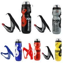 650 мл велосипедная бутылка для воды горная дорога велосипедная бутылка для воды открытый велосипедный чайник Портативный с держателем для бутылки Аксессуары для велосипеда