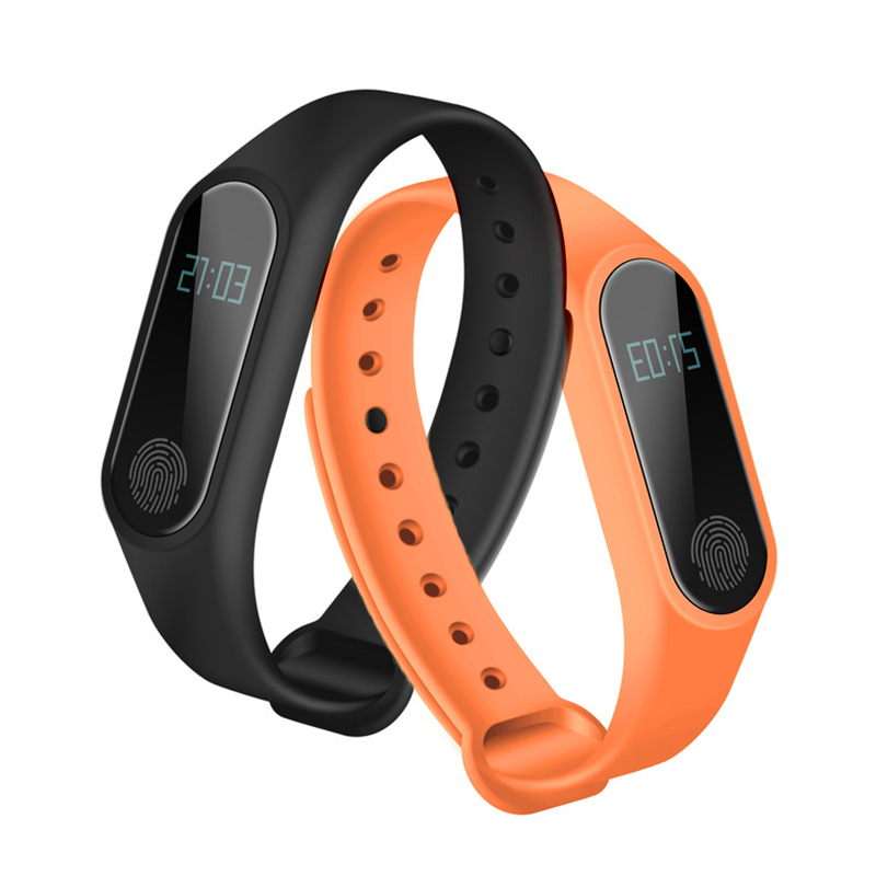 M2 Smart Wristbands Fitness Tracker pulsera inteligente podómetro Bluetooth Smartband Monitor de sueño impermeable reloj