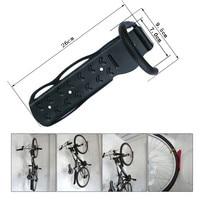 New Cycling Bike Storage Garage Wall Mount Rack Hanger Hoo Bike Rack Stand Holder Black High