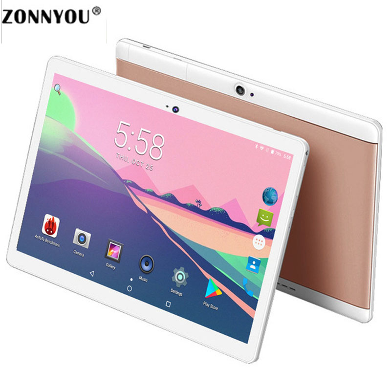 10.1 Inch Android 7.0 Original 3G Phone Call SIM Card Octa Core CE Brand WiFi FM Tablet PC 4GB/64GB Anroid 7.0 Tablet PC