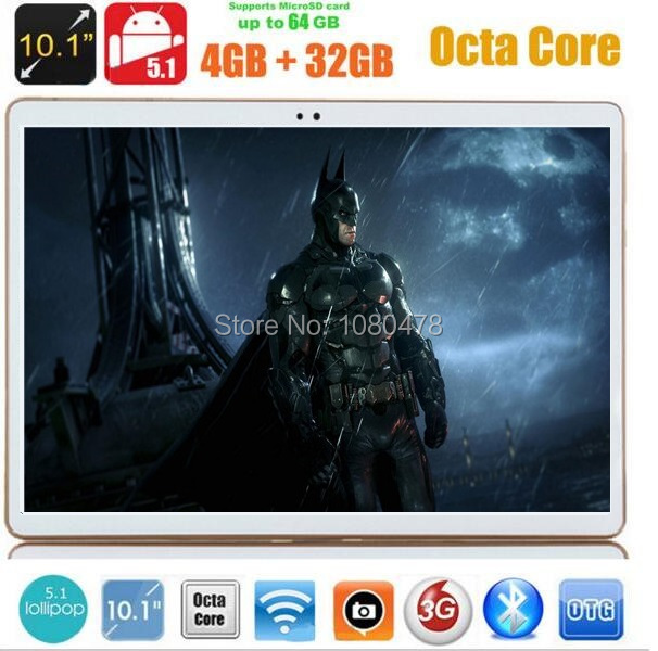 4G LTE 10 inch tablet pc Octa Core 4GB RAM 32GB ROM Android 5 1 IPS