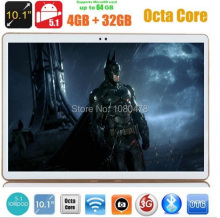 4G LTE 10 pulgadas tablet pc Octa Core 4 GB RAM 32 GB ROM Android 5.1 Phablet IPS GPS wifi 5.0MP 10.1 MID DHL envío