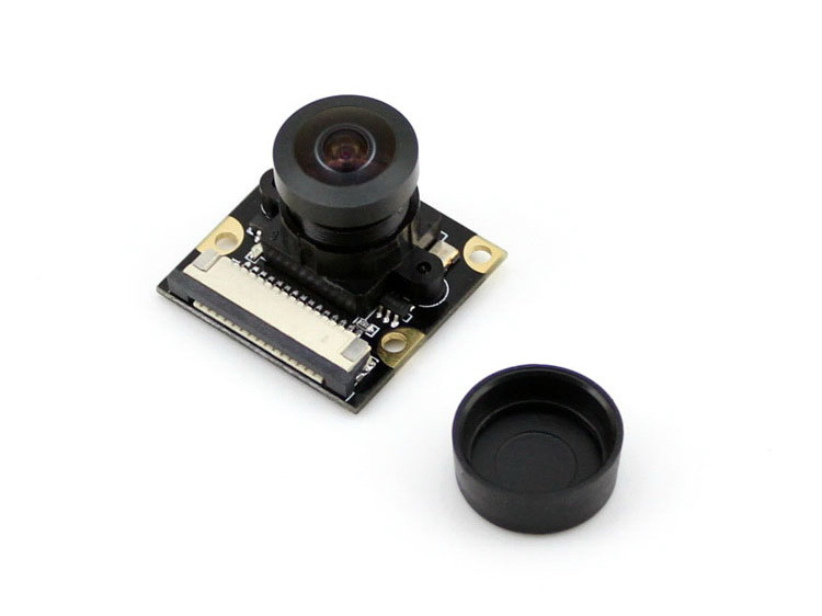 Module caméra Raspberry Pi (H) objectif Fisheye, champ de Vision plus large, prend en charge la Vision nocturne pour tous les Raspberry Pis = caméra RPi (H)