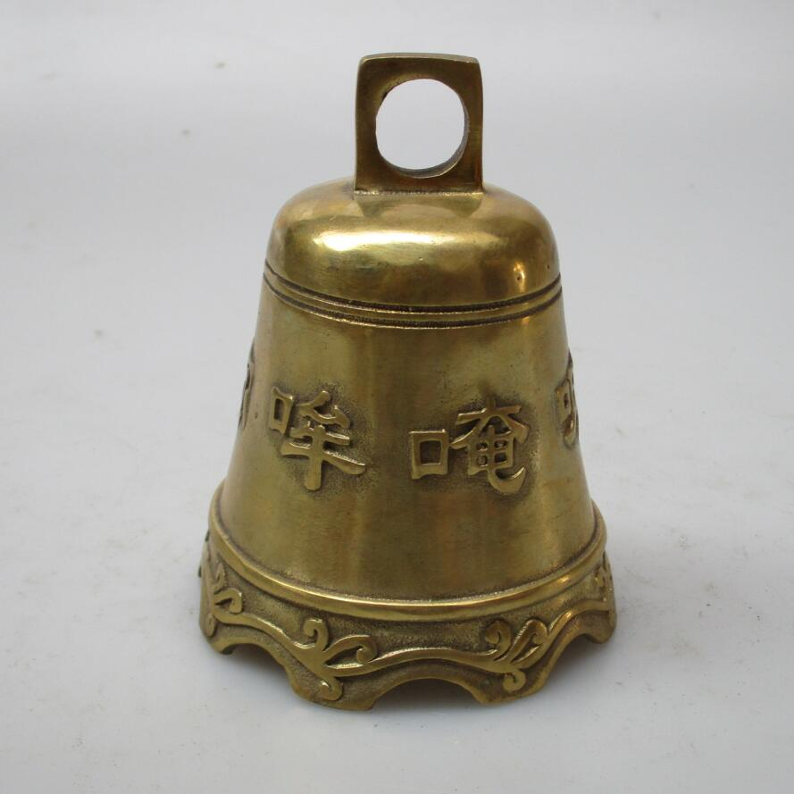 christmas decorations for home+ High :10 CM Home Decor Feng Shui brass Bell /Metal Decoration Crafts Lucky Bell