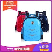 лучшая цена KOKOCAT PU School Backpack Waterproofing Children Backpack 1-3-6 Grade Schoolbags for Boys and Girls
