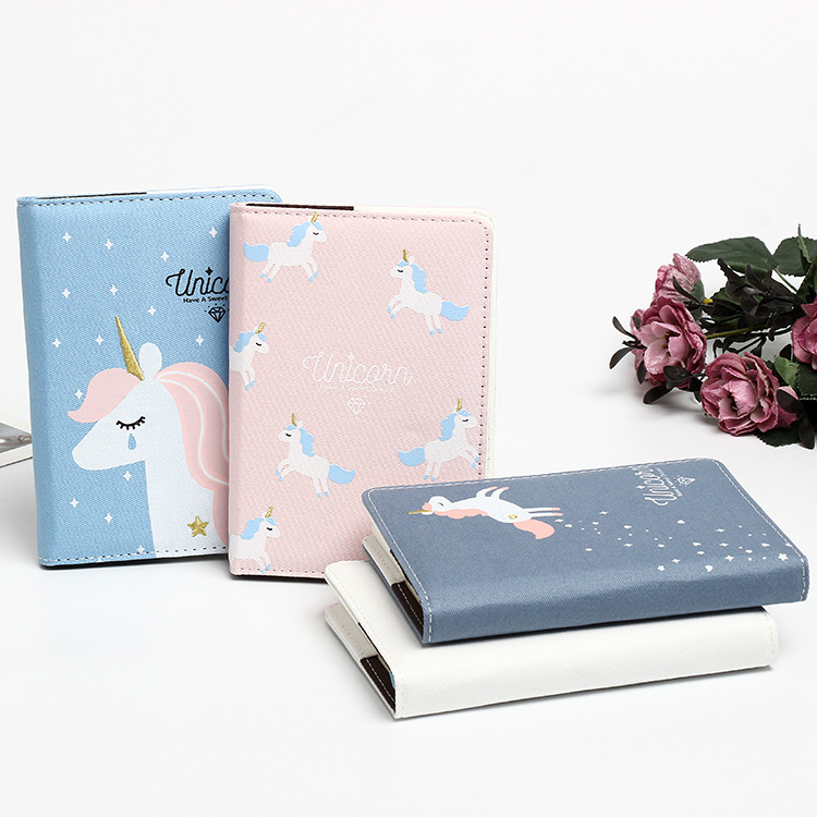 2019 unicórnio kawaii a6 planejador caderno estudante diário trabalho notas lvoely dos desenhos animados bloco de notas papelaria escritório estudantes presente