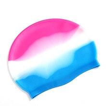Силиконовая резиновая детская шапочка для плавания для взрослых мужчин и женщин водонепроницаемые купальные шапочки для плавания аксессуары для плавания ming