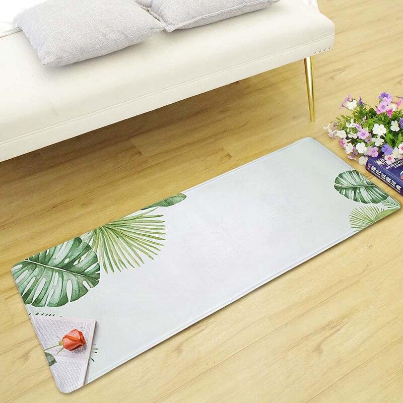 Home & Garden Zeegle Wood Kitchen Rugs Home Decor Carpet For Living Room Non-slip Sofa Table Floor Mats Bedroom Carpets Bedside Rugs Doormat Home Textile
