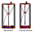 Flsun 3D Printer Delta Auto Leveling Large Printing Size 240*285mm With Power Supply Heated Bed One Roll Filament For free