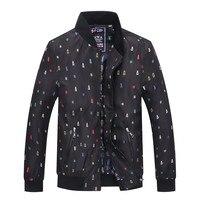Jacket men winter jackets for men billionaire Tace&shark Brand jackets men 2018 coats and jackets men Standing collar zipper