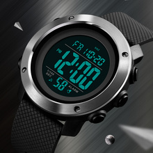 SKMEI Top Luxury Sports Watches Men Waterproof LED Digital Watch Fashion Casual Men #8217 s Wristwatches Clock Relogio Masculino cheap STAINLESS STEEL CN(Origin) 25 5cm 5Bar Buckle ROUND 22mm 14mm Resin Complete Calendar Shock Resistant Stop Watch LED Display
