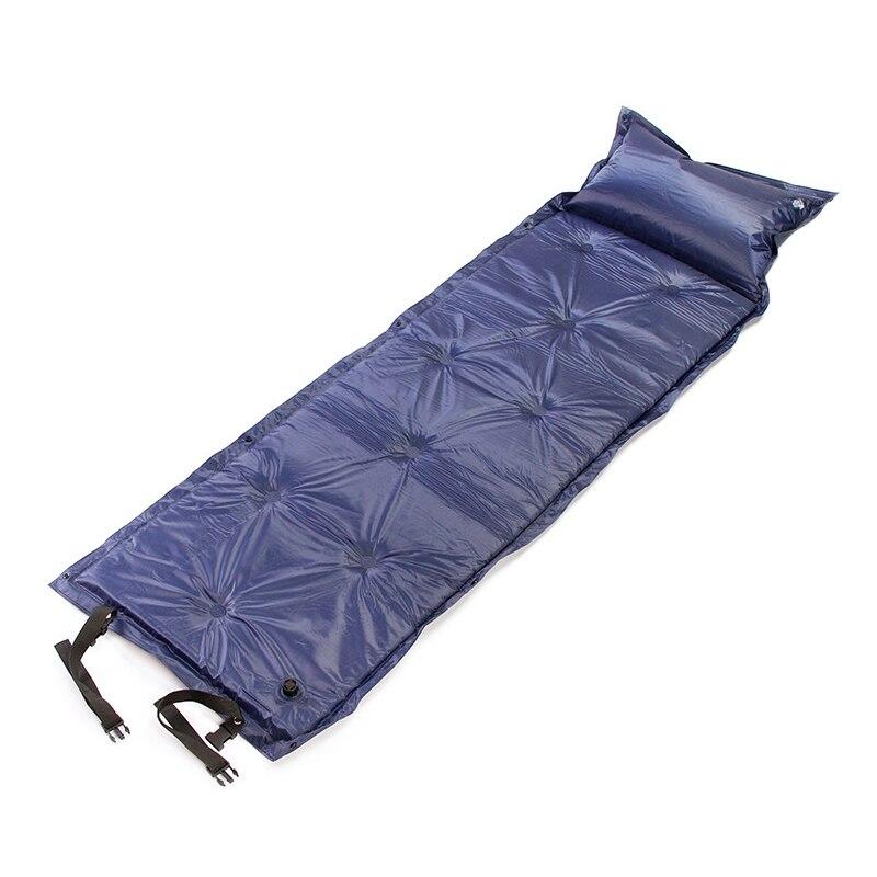 Picnic Beach Air Mattress Bed Mats With Storage Bag Portable Moisture-Proof Camping Roll Mats Sleeping Bed With Pillow Mattress