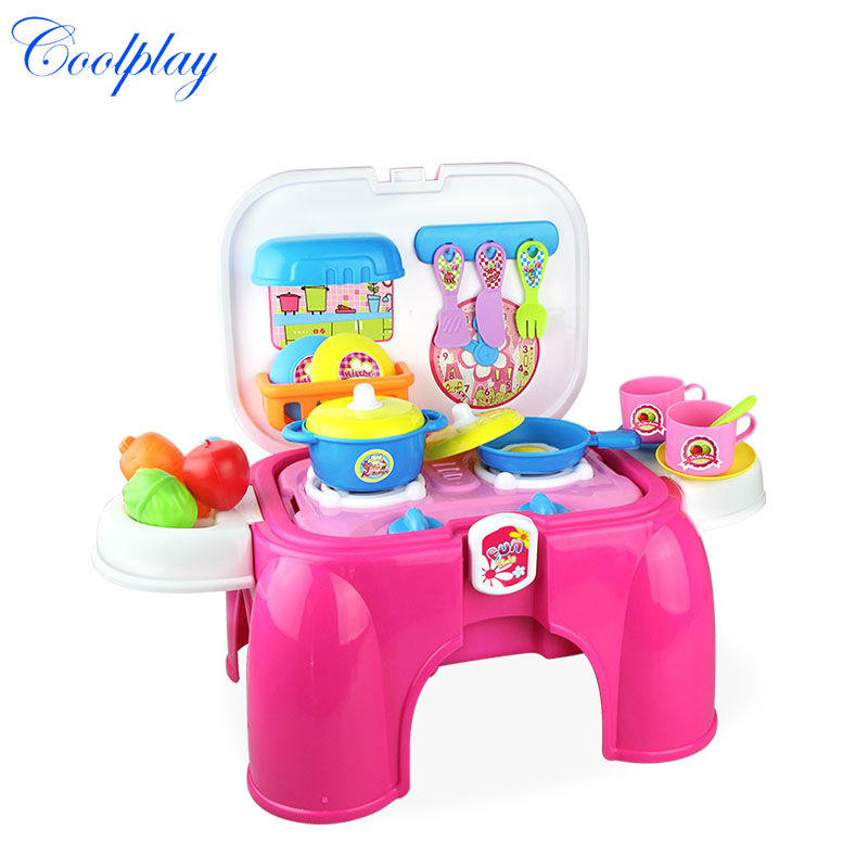Coolplay cp008 93a child cooking kitchen toys set musical for Kitchen set 008 82