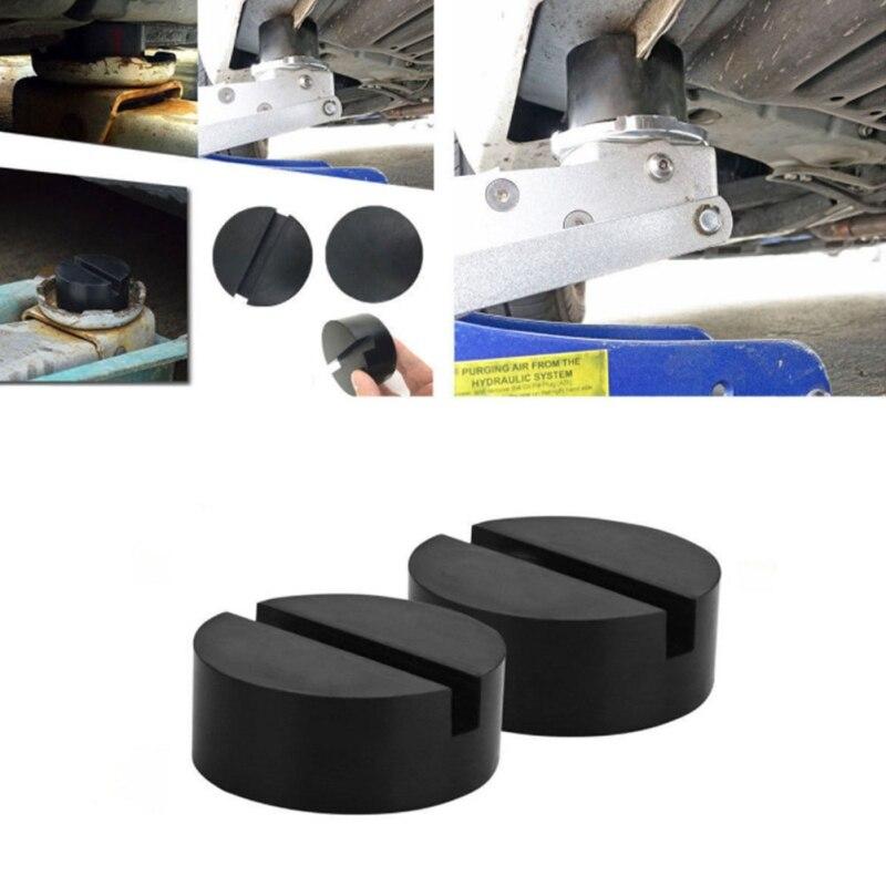 Car Rubber Disc Pad Car Vehicle Jacks Pad Frame Protector Rail Floor Jack Guard Adapter Tool Jacking Lifting Disk