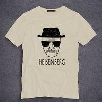 패션 브레이킹 배드 로스 Pollos Hermanos 남성 T 셔츠 하이젠 베르크 짧은 소매 O 목 티 탑 참신 티셔츠 S-5XL