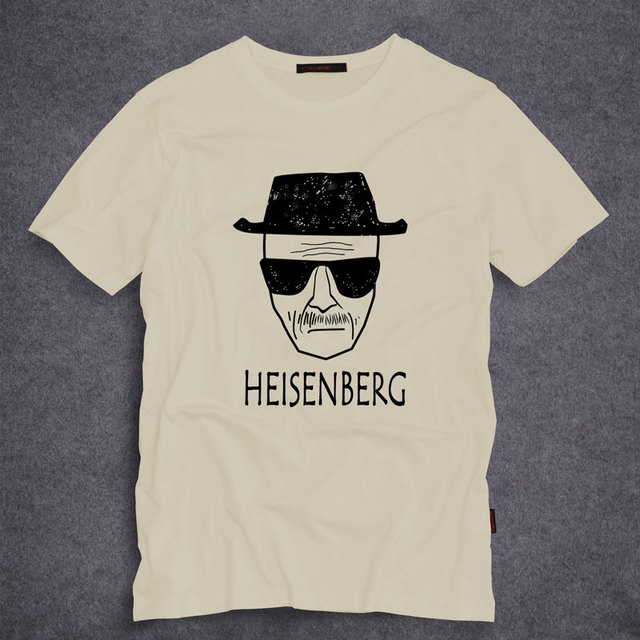 Fashion Breaking Bad Los Pollos Hermanos Men T Shirt Heisenberg short Sleeve O-Neck Tops Tees Novelty T-Shirt S-5XL