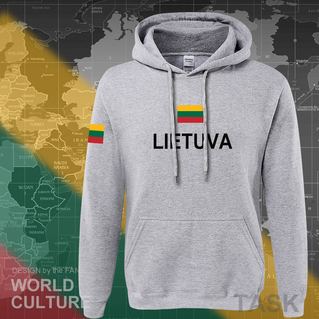 Lithuania Lithuanian hoodies men sweatshirt sweat new nation 2017 streetwear clothing sporting tracksuit LTU Lietuva Lietuvos 5
