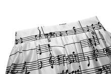 Music Note Fashion Skirt