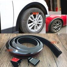 Rubber Soft Black Car Rear Spoiler 36mm Width 1.5m Length Exterior Rear Spoiler for Bmw audi benz VW Toyota Kia Hyundai Ford