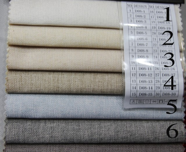 Heavy Weight Canvas 100 Polyester 145cm Wide Upholstery For Lounge Car Cover High