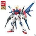 Gundam Bandai HG Construir Greve Lançador Greve Figura de Ação Montar Modelos Luta Robô Dos Desenhos Animados Anime Coleção Presente 1/144