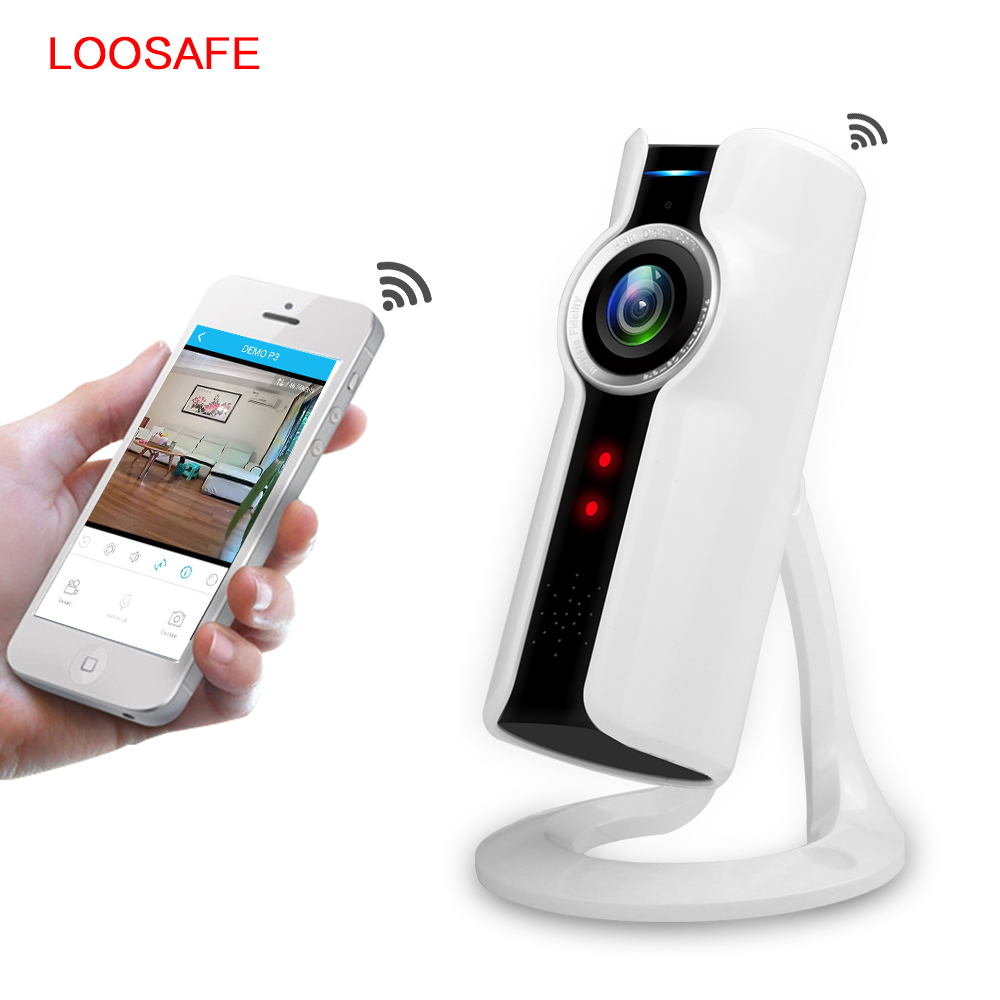 loosafe wifi wireless baby monitor 1080p hd mini ip camera wi fi network cctv security camera. Black Bedroom Furniture Sets. Home Design Ideas